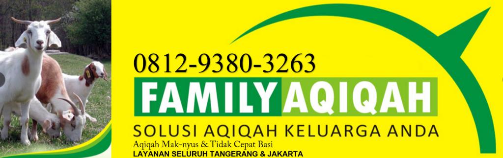 Jasa Aqiqah Tangerang Selatan